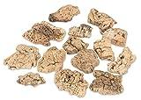 NaDeco® Korkstücke rustikal stark verwittert ca 150g | Korkeiche in Stücken | Korkrinde | Naturkork | Naturdeko | Terrarium Dekoration
