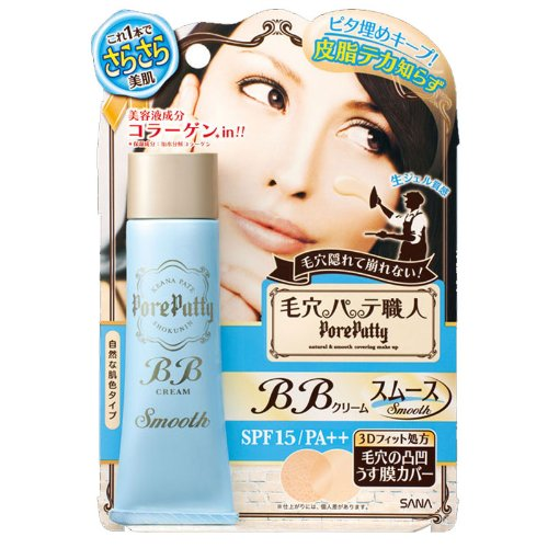 Sana Keana Pate Shokunin Pore Putty BB Cream (Smooth) SPF15 PA++ 30g (japan i...