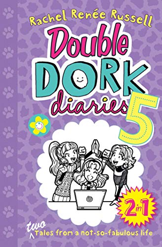 Double Dork Diaries #5: Drama Queen and Puppy Love (English Edition)