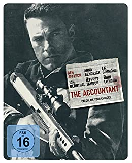 The Accountant (Steelbook) (exklusiv bei Amazon.de) [Blu-ray] [Limited Edition]