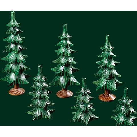 Ramas del árbol 7 con las montañas del mineral del bosque del cm Seiffen del tronco 15 NUEVAS