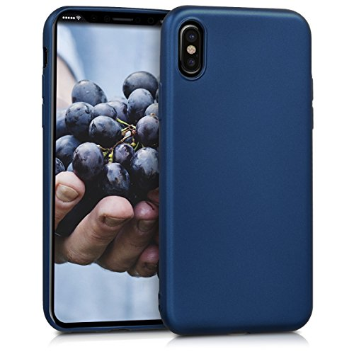 carcasa iphone x azul