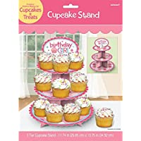Amscan International - Espositore per cupcake per compleanno, per bambina