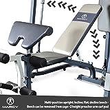 MARCY Heim-Gym Multipresse mit Hantelbank Smith-Maschine, Schwarz, One Size - 5