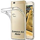 Lenovo K6 Note Ultra Slim Hülle - Schutzhülle Silikon Case Tasche Durchsichtig - Transparent (nicht für Lenovo K6)