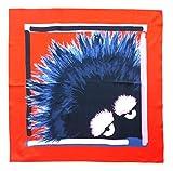 Fendi Damen Schal Arancione+nero