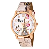 #8: OpenDeal New Paris Edition Funcky Watches For Girls Womens OD-W296