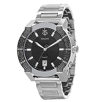TELLUS-Discoverer-46-Herren-Diamantuhr-Armband-aus-Edelstahl-Swiss-Made-T1065-U111EOA111