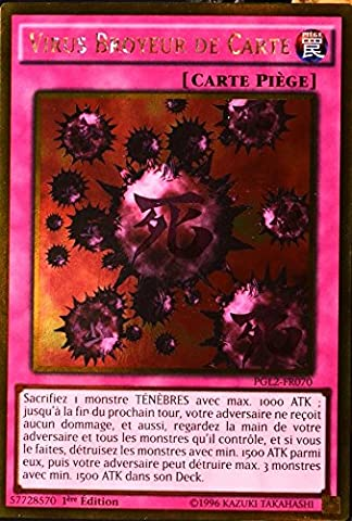 Yu Gi Oh Virus - carte YU-GI-OH GOLD PGL2-FR070 Virus Broyeur De