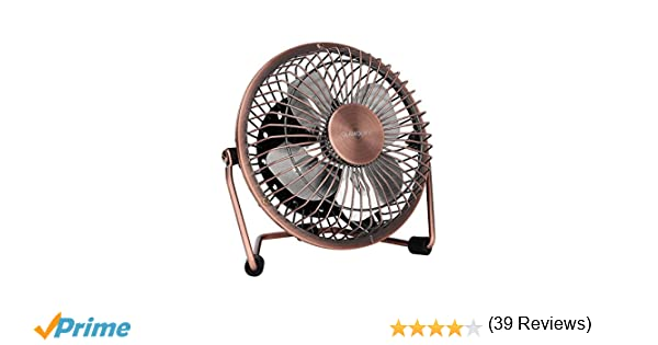 Mini ventilateur à clipper anglink ventilateur usb de bureau avec