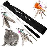 Grandiose Katzentunnel – Neuartige Faltbare Geknister Knauschtig Rolle Lustig Run Spielzeug! Passende für ALLE Katzen! Sie werden sie sicherlich lieben!
