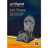 getDigital Papercraft Telefonständer Iron Throne
