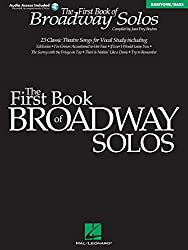 First Book of Broadway Solos: Baritone/Bass