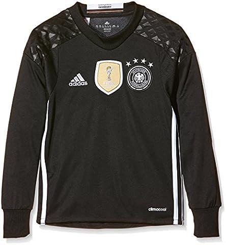 adidas Jungen Torwart-Heimtrikot DFB Replica UEFA Euro 2016, black/white,164,