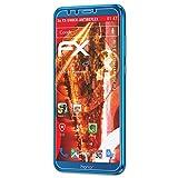 atFoliX Huawei Honor 9 Lite Anti-Choc Film Protecteur - 3 x FX-Shock-Antireflex Amortisseur Anti-éblouissement Anti-Casse Protecteur d'écran