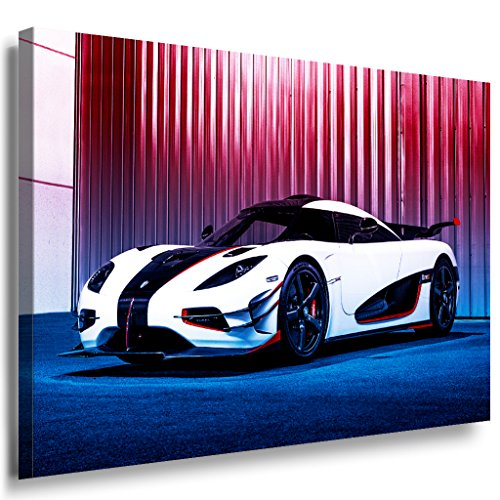 koenigsegg-leinwandbild-laraart-bilder-mehrfarbig-wandbild-80-x-60-cm