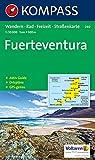 Kompass Karten, Fuerteventura (KOMPASS-Wanderkarten, Band 240) -