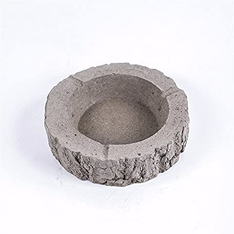 Cafe hotel cement ashtray concrete personality trend retro handmade home furnishings
