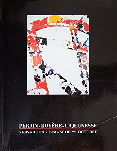 Importants tableaux abstraits et contemporains, sculptures, Dimanche 22 octobre 1989