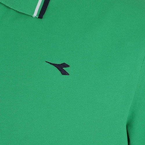 Diadora Jungen Poloshirt Verde