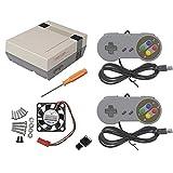 uniquegoods Retroflag Nespi Kit de caja para Raspberry3, 2 y B + y ventilador de regalo (KIT B)