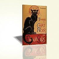 Black Cat Chat Noir Radolphe Salis Parigi Francia 63x88