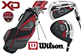 Wilson Profile XD Mens Complete All Graphite Golf Package Set Deluxe Stand Bag + FREE GOLF BALLS