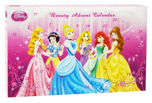 Preisvergleich Produktbild Markwins 9347800 Disney Princess Kosmetik und Schmink Adventskalender, 1er Pack (Theaterschminke)