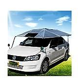 ZGFlhq Vehiculo De Proposito General Entrenador Protección Solar Sombrilla Paraguas Vehículo Polivalente Cubierta Abrigo De Vehículo Multifuncional