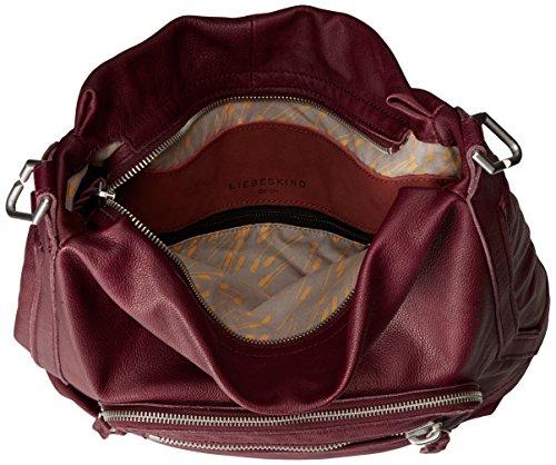 Liebeskind Berlin Hitachi double, Sacs portés épaule Rouge - Rot (ruby 3992)