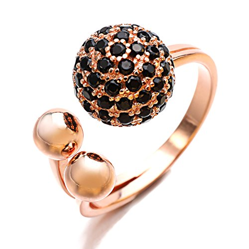 Lan Fan modo elegante anelli delle donne (Quarzo Rosa Enhancer)