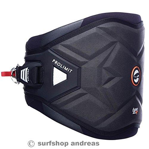 Pro Limit Type T Windsurf Hüft Trapez harness Größe S Schwarz 2017