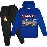 Niños Juegos Familiares Unspeakable 2 Piezas Conjuntos Sudaderas Con Capucha, Roblox La Camiseta De Los Puentes Y Los Pantalo
