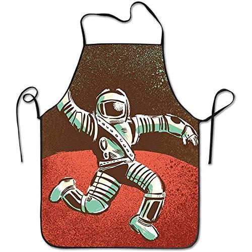 Bee Brown Delantal Cocina Babero onaut Dance Waterproof