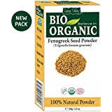 Indus Valley Bio Organic Fenugreek Methi Powder-100 Grams