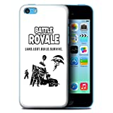 Stuff4 Coque de Coque pour Apple iPhone 5C / Land Loot Build Design/FN Battle Royale...