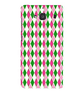 HiFi Designer Phone Back Case Cover Xiaomi Redmi 2 :: Xiaomi Redmi 2S :: Xiaomi Redmi 2 Prime ( Colorful Pattern Design )