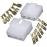 10x bo/îtier connecteur Vide 4 Voies pour cosses /électriques Femelles 6.3mm AERZETIX