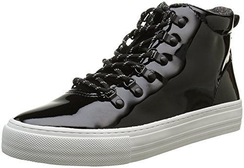 no-name-damen-arcade-snow-sneakers-noir-patent-black-fox-white-40-eu