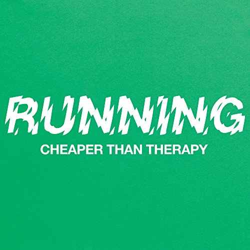 Cheaper Than Therapy T-Shirt, Herren Keltisch-Grn