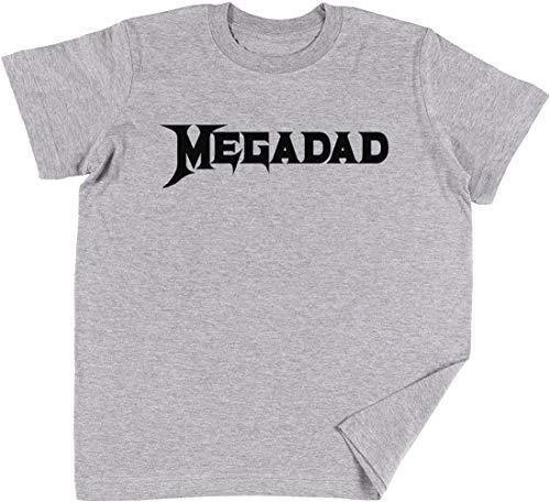Vendax MegadadNiños Chicos Chicas Unisexo Camiseta Gris