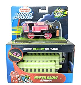 Thomas & Friends FWC53 Hyper Ashima, Thomas The Tank Friends Glow in The Dark Trackmaster Engine