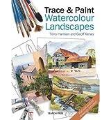 Trace & Paint Watercolour Landscapes (Paperback) - Common
