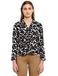 Park Avenue Woman Fawn Polyester Regular Fit Top