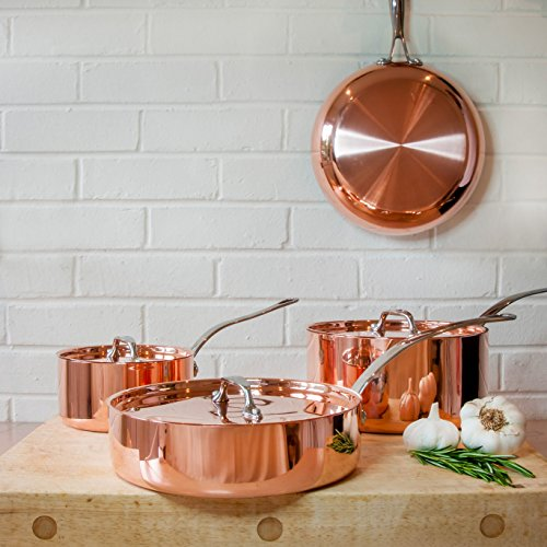 set-of-4-copper-pans-with-lids-frying-pan-pots-saute-french
