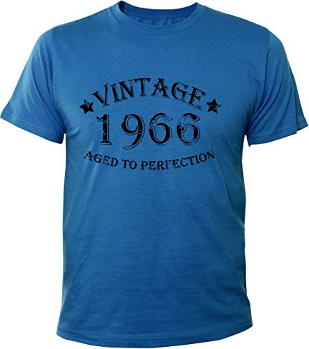 Mister Merchandise T-Shirt Vintage 1966 Aged To Perfection Jahre Geburtstag