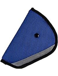 Koly® Ajustador Resistente Protect Titular del cinturón de seguridad del coche de seguridad para niños (Azul)