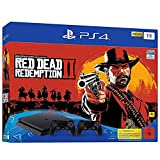 Playstation 4 Slim Bundle mit 2 Controllern   Red Dead Redemption II
