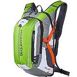 SHTH Wasserdicht Fahrrad Schulter Rucksack Wasser Reisetasche Ultralight für Radsport Outdoor Reiten Bergsteigen Hydration ,46*26*23cm,18L