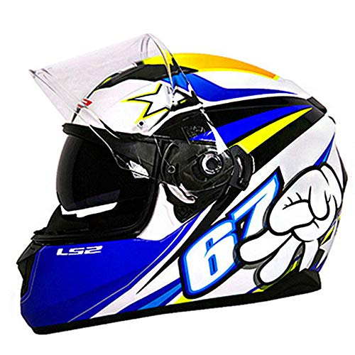 Integralhelm Racing Reisehelm Motorrad 7 XL